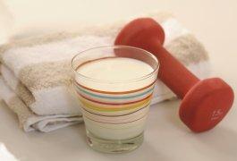 חלב הפרטנר הבריא שלך לאימון