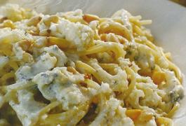 ספגטי רוקפור כבשים וכרובית